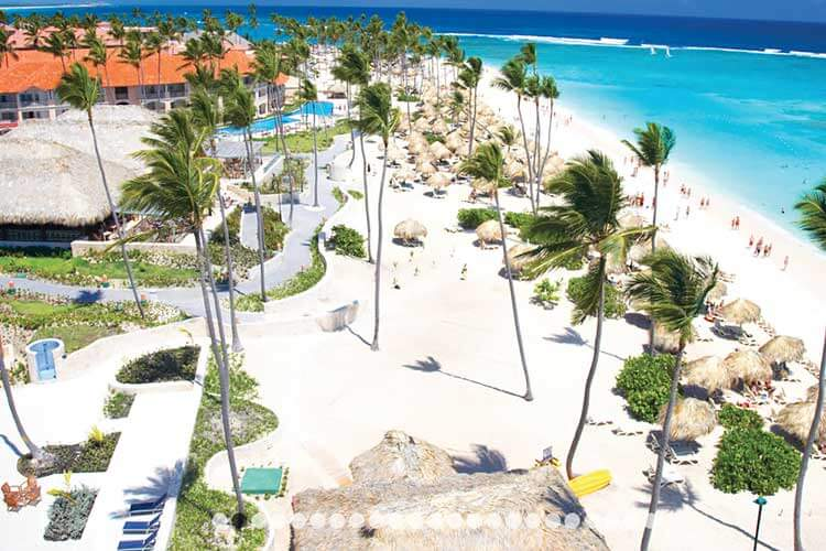 Luxe 5-sterren all inclusive Majestic Colonial Punta Cana Dominicaanse Republiek