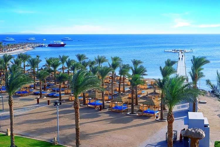 luxe All inclusive resort Albatros Palace Egypte