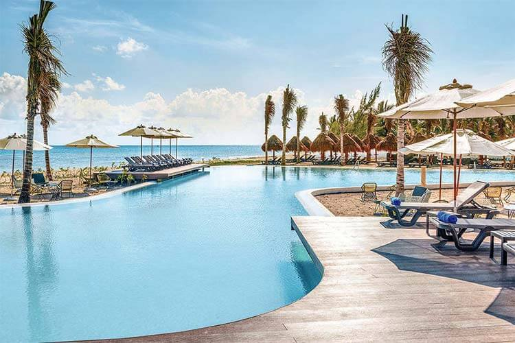 Luxe all inclusive Hotel Ocean Riviera Paradise Mexico