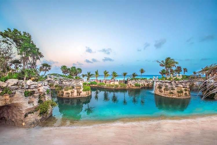 Luxe all inclusive Hotel Xcaret Mexico